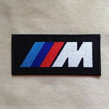 BMW MOTOR SPORT RACING CAR LOGO EMBROIDERY IRON ON PATCH BADGE
