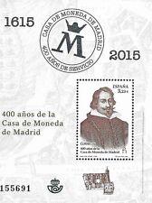 Spanien Mi.Nr. Block 267** (2015) postfrisch/ 400. Jahrestag der Casa de Moneda