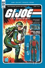 IDW GI JOE A REAL AMERICAN HERO #224 FLASH ACTION FIGURE VARIANT EDITION COMIC