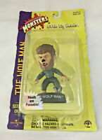 The Wolf Man!   Sideshow LITTLE BIG HEADS  Figure Universal Monsters  Christmas!