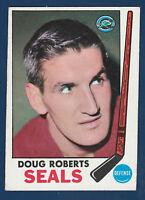 DOUG ROBERTS 69-70 TOPPS 1969-70 NO 81 EX+  2