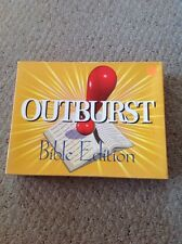 Pre Owned Cactus Games Outburst-Bible Edition.  See Pictures For Details.
