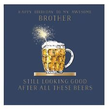 Awesome Brother Birthday Greeting Card By The Curious Inksmith Greetings Cards