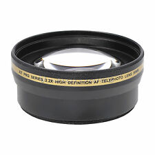 58mm XIT Pro HD High Definition 2.2x Telephoto Lens