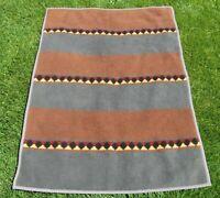 VTG Cannon Ibena Blanket Reversible Southwestern Pattern Plush Acrylic 56 x 76