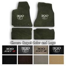 Chrysler 300 Velourtex Carpet Floor Mats- Choice of Carpet Color & Logo