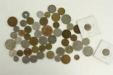 Vintage Mixed Lot COINS Foreign Currency England Canada Mexico Germany Russia