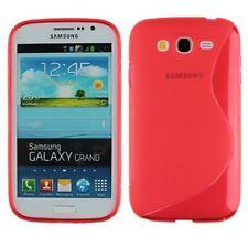 Pellicola + Custodia cover case WAVE ROSSA per Samsung Galaxy Grand I9080 I9082