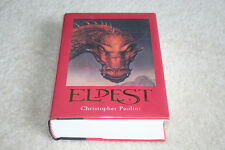Signed ELDEST Christopher Paolini 1ST / 1ST Inheritance Book 2 - MINT 2005