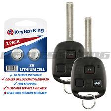 Fits 2002-2010 Lexus SC430 Keyless Entry Remote Car Key Fob HYQ12BBT 2x