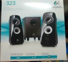 Logitech Z323 Wired PC Speaker System - Black Computer Speakers w/ Subwoofer