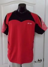 Yonex Very Cool Game Shirt Red Prevent Static Electricity XL Badminton Tennis