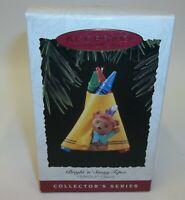 Hallmark Keepsake Christmas Ornament - Crayola Crayon Bright Sunny Tepee - MIB