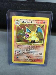 Charizard Holographic Base Set 2 4/130 Moderately Played