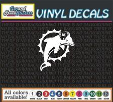 NFL Miami Dolphins retro old logo football window vinyl sticker decal