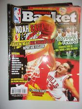 MONDIAL BASKET N°175 S 2008 JOAKIM NOAH AUX CHICAGO BULLS - REPORTAGE