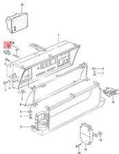Genuine VW Bulb Holder NOS AUDI VW 100 Avant 4000 Quattro 5000 80 90 481957397