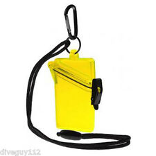 Witz Dry Box See it Safe for ID Cards, Licenses Scuba Diving Gear Bag Yellow