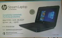 "NEW HP 11-ah117wm Streambook 11.6"" HD N4000 4GB RAM 32GB eMMC Windows 10 Black"