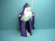 Miniature Grand Wizard/Professor Dollhouse Doll Porcelain Parts Handcrafted