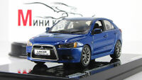 Scale car 1:43, Mitsubishi Lancer Sportback Ralliart, Lighting Blue