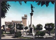 CASERTA ROCCAMONFINA 04 MONUMENTO ai CADUTI Cartolina FOTOGRAF. viagg. (1970 ?)