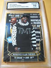 FLOYD MAYWEATHER 2017 TOPPS NOW ROAD TO AUG. 26 # 12 GRADED 10  L@@@K