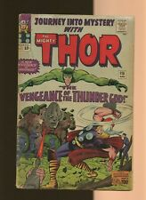 Journey Into Mystery 115 GD 1.8 *1* Absorbing Man! 1st Loki's Magic Sword! Thor!
