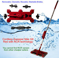 Cordless Sweeper Max G8 with Swivel RCR technology Remove Clean Reuse Bristles