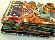 NICK FURY / AGENT SHIELD Marvel 36 Comic Books 1968-2005  Plus 4 Graphic Novels