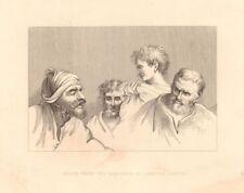Antique (Pre-1900) Cartoon Engraving Art Prints