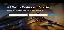 Restaurant Directory Beautiful Website Free Installation Hosting
