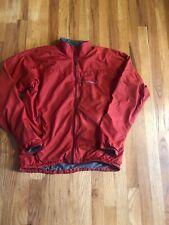 Mont Bell Montbell Men's Climalight JACKET Windbreaker Red Size Medium