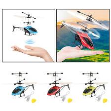 Fliegen Fernbedienung Induktion Flugzeug Hand Steuer Drohne Kinder Geschenke