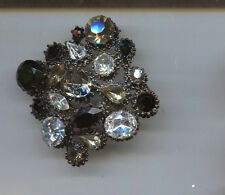 Weiss Black Clear Maltese Pin authentic