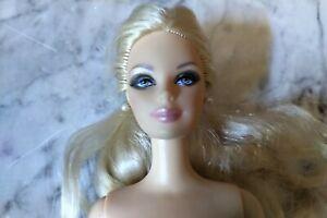 barbie doll model muse head bendy legs