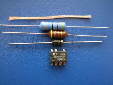 LNK304GN + Widerstand 47 Ohm 3W + Schutzdiode P6KE200 +Drossel 470µ+Entlötlitze