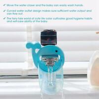 Kid Hand Washing in Bathroom Sink Faucet Extender Helps Children Toddler