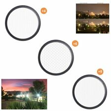 37mm ~ 82mm Star Line Star Filter 4 6 8 Piont Camera Filter For Canon Nikon Sony