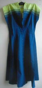 Brand New Seasalt Lansallos Dress Graded Stripes Marine Size 10