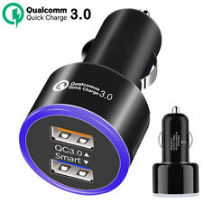 6.2A Fast Charge QC 3.0 Dual USB Car Charger Quick Charging for Samsung iPhone X