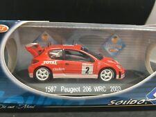 1:43 Peugeot WRC Rallye Monte-Carlo 2003  Burns & Reid  solido neuf