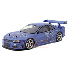 HPI Racing Nissan Skyline R34 GT-R Clear 190mm Body 1:10 RC Touring Drift #7327