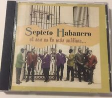 Septeto Habanero El Son Es Lo Mas Sublime... Music Cd 0173. (1996) Egrem