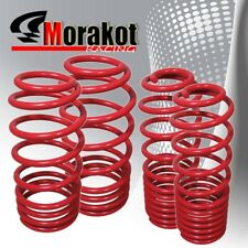 """New Jdm Sport For Altima 02-06 Drop 1.9/1.4"""" lower lowering Spring Set Kit Red"""