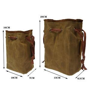 Drawstring Shotgun Rilfe Ammo Pouch Waist Belt Attachment for .22 22lr .38 .45