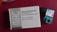 Distributeur Pneumatique 35A-ACA-DFBJ-1KJ  MAGNETVENTIL  MAC 24V DC  Neuf 200627