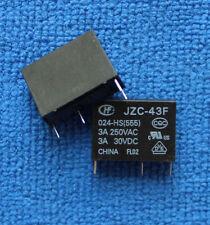 1 un. nuevo JZC-43F-024-HS (555) 24VDC Relé