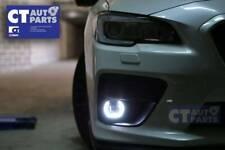 Front OLM LED CORONA RING DRL FOG Lights for 2015+ SUBARU WRX STI / Toyota 86 GT
