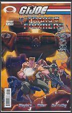 "GI JOE vs TRANSFORMERS #1 Cover ""C"" SIGNED Kaare Andrews COA"